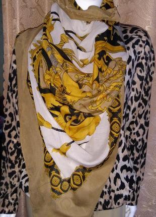 🔥до 15.11🔥hallhuber шарф палантин 100*180 платок