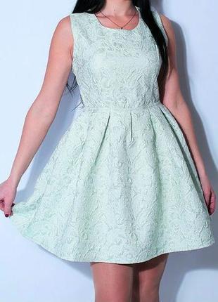 Женское платье жакардовое elisabetta franchi р s