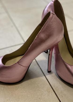 Туфли кожа yves saint laurent, оригинал 37
