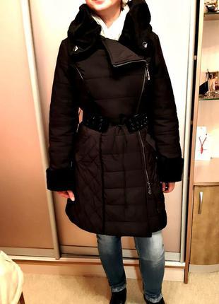 Стеганное утепленное пальто lasagrada