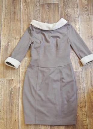 Шерстяное платье bgl
