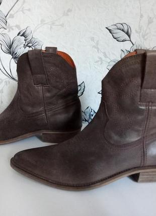 Ботильоны ботинки казаки faith