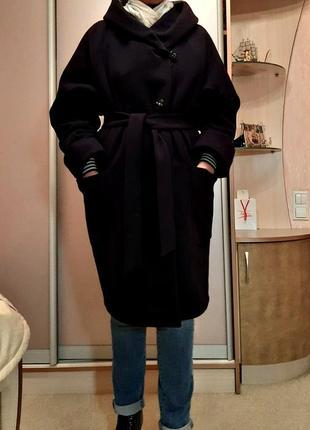 Зимнее пальто от украинского производителя без меховой отделки