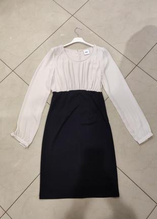 👑♥️final sale 2019 ♥️👑   чорно бежевое платье для беременных