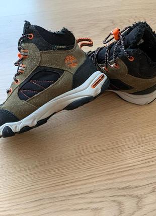 Timberland зимние детские ботинки