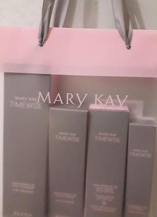 Mary kay волшебный набор timewise age minimize 3d с spf 30 мери кей5 фото