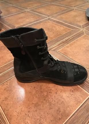 Крутые зимние ботинки carnaby 37 кожа
