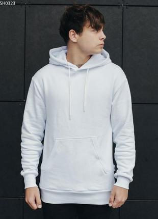 Толстовка staff white logo fleece