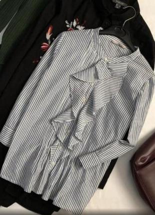 Хлопковая блуза от tu