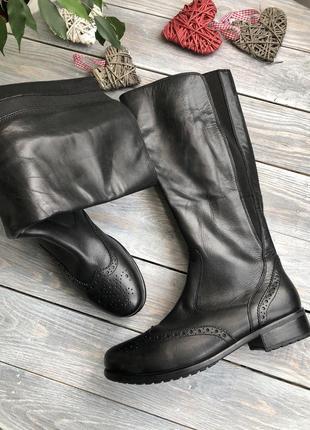 Ara стильные сапоги, оксфорды утепленные флисовым мехом