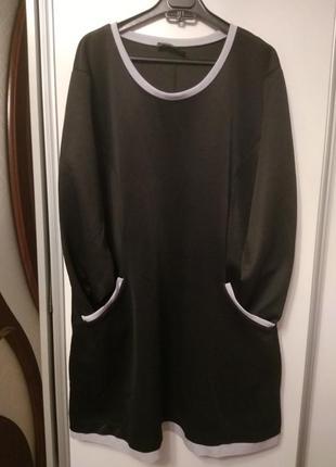 Удобное платье, размер 58-60