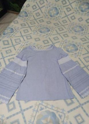 Блуза в стилі бохо.