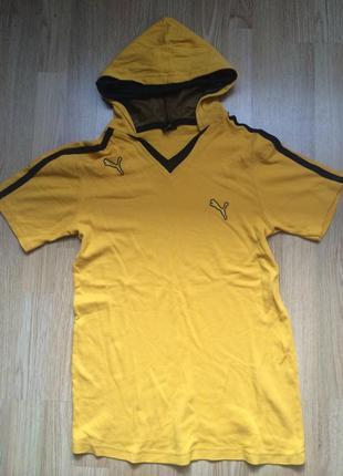 Puma футболочка с капюшоном