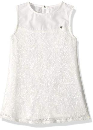 Нарядное платье guess на девочку подростка 14-16 лет