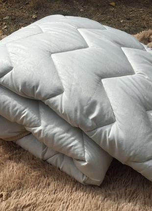 Одеяло стёганое шерстяное - новозеландская шерсть, 140х205см