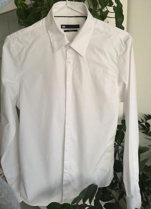 Белая рубашка we fashion