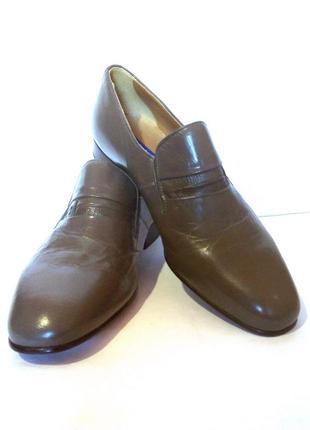 Качество! кожа! мужские туфли лоферы от бренда lotus, р.44 код m4403