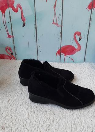 Теплые фирменные ботиночки