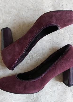 Туфли footglove замшевые 40 р, удобные