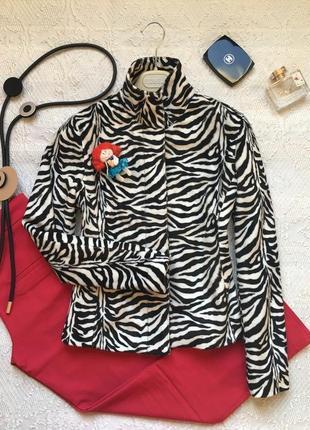 Броский хищный блейзер, пиджак /bay/ размер m