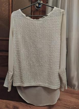 Блуза на молнии