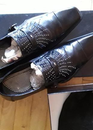 Туфлі чоловічі італійського бренду versace's