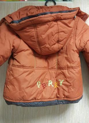 Зимняя детская курточка2 фото