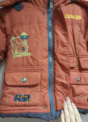 Зимняя детская курточка4 фото