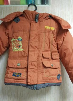 Зимняя детская курточка5 фото