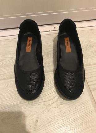 Балетки туфли  итальянские frau