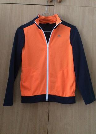 Спортивна куртка domyos для хлопчика 9 років