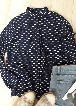 Актуальная/лёгкая/блуза/рубашка от h&m размер xs-s