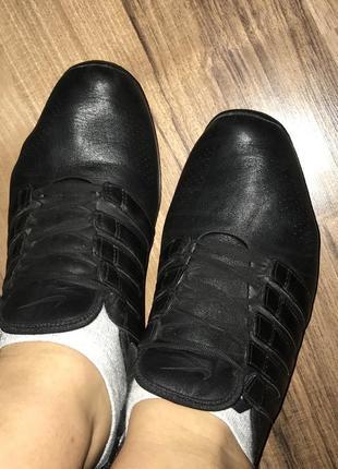 Кожаные оригинальные кроссовки nike