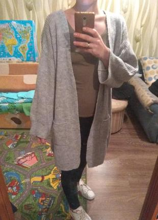 Кардиган свитер зима