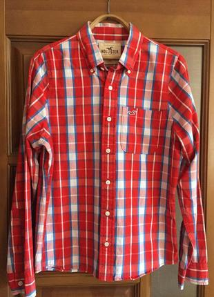 """Классная мужская рубашка """"hollister """"."""