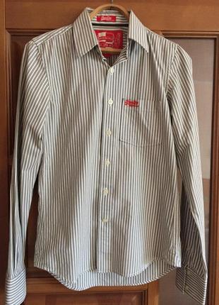 "Классная мужская рубашка ""super dru ""."