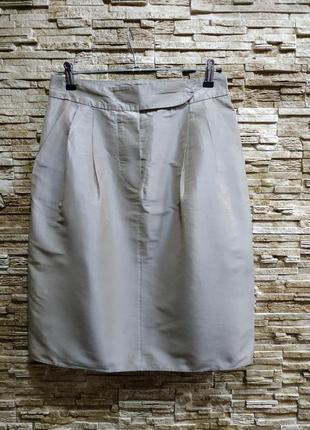 Стильная юбка max mara  с натуральным шёлком