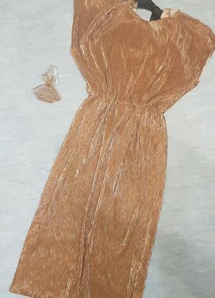 Шикарное дизайнерское вечернее платье миди андре тан