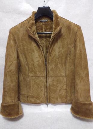 Liu jo, искусственная короткая дубленка-куртка