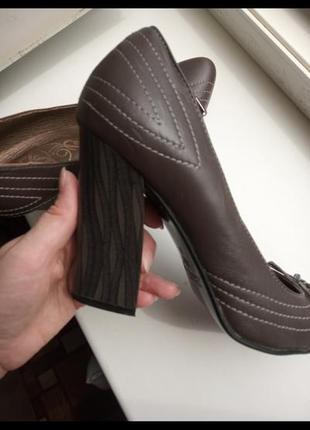 ♥️ туфли кожанные 38
