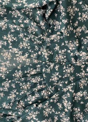 Шикарное макси платье в цветочек no name7 фото