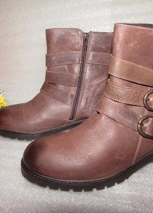 Мужские ботинки натуральная кожа~ hush puppies ~р 41-42