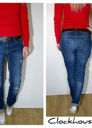 Крутые свободные джинсы clockhouse