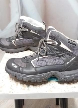Ботинки salomon gore-tex thinsulate