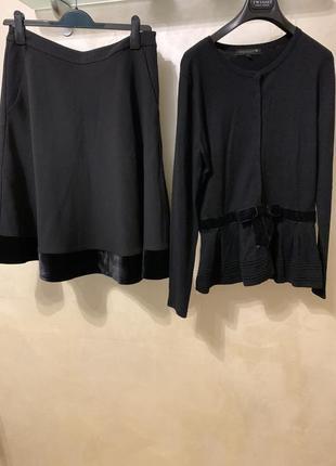 Очень стильный комплект юбка и кофточка monton