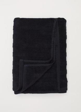 Махровое полотенце с жаккардовым рисунком хлопок шведского бренда h&m