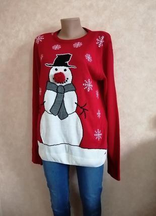 1+1=3 на все! 🧡 свитер тёплый новогодний праздничный