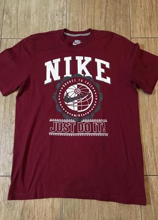 Крутая футболка nike олдскул 100% оригинал