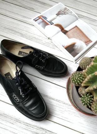1+1=3  на все!🌷ботинки кожаные, мировой бренд, темно синие, с шнурками