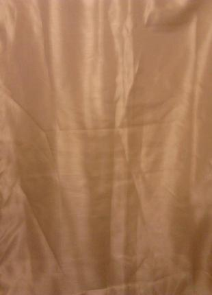 Штори цвета кофе с молоком с золотистим отливом два полотна  в 230 см, ш 150см